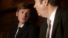 I didn't stay here to work under McNutt. Endeavour Morse, Roger Allam, Shaun Evans, Great Tv Shows, New Love, Thursday, British, Actors, Nice