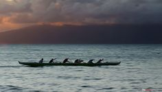 Outrigger at Sunset | The Design Foundry by thedesignfoundry, via Flickr
