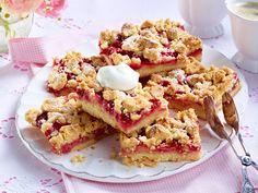 Streuselkuchen - die schönsten Rezepte - erdbeer-puddingkuchen