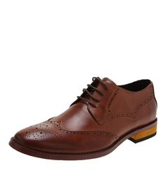 Antoine + Stanley - Spencer Tan Brown Leather Shoes