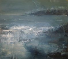 Abstract Seascape, oil paint, Robert McCrorie