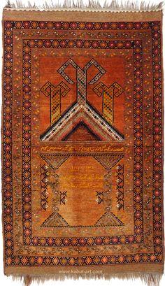antik turkmenisch Gebetsteppiche wandteppich Antique islamicTurkmen prayerrug