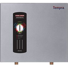 Stiebel Eltron has been a world leader in advanced water heating technology for almost 90 years. Our engineering excellence and high-quality manufacturing results in products fulfilling the highest expectations of performance & reliability. Tempra Series whole house tankless electric water heaters are 99% efficient and never waste energy storing hot water, but endlessly deliver it as needed. Tempras need no venting. Installation can be close to draw off points, making the wait for hot wa...