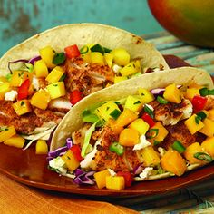 """""""Penitential"""" Lenten fish tacos for a Friday meal."""