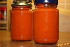 Papriku zbavíme jadierok a pokrájame na pásiky,paradajkám vykrojíme hrubšiu časť od stopky a tiež po...