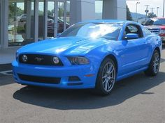 New 2014 Ford Mustang Coupe GT (Blue Car) | Charleston