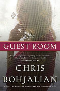 The Guest Room by Chris Bohjalian (a fav. bestseller author). In one shame filled, scandalous, violent night, lives are forever changed. Well respected big brother hosts bachelor party for younger brother that turns into a murder scene.