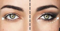 How to Update Your Eye Makeup for Hooded Eyes Droopy Eye Makeup, Droopy Eyes, Blue Eye Makeup, Pretty Eye Makeup For Blue Eyes, Drooping Eyelids, Makeup Dupes, Beauty Makeup, Makeup Tricks, Make Up Tutorial Contouring