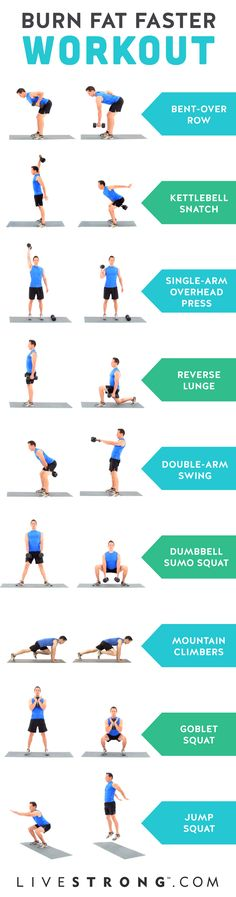 "The ""Burn Fat Faster"" Workout"