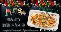 Ingredienti Sani e di Prima Qualità per coccolare i Nostri Clienti... Zucca, Finferli e Pancetta... #girasolebraciepizza #braci #pinsa #pinsaromana #cittàsantangelo #montesilvano #pescara