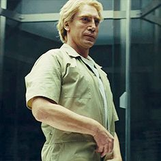 Javier Bardem — Still want to know how he took out all of those...