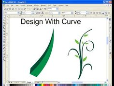 How to Learn Curve and Design With Curve Using CorelDRAW