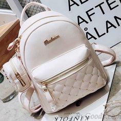 Mini Black White Lady Bag Snap Rivets Mesh Lingge PU Backpack Source by Lace Backpack, Retro Backpack, Backpack Bags, Leather Backpack, White Backpack, Messenger Bags, Cute Mini Backpacks, Stylish Backpacks, Girl Backpacks