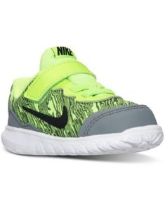 Nike Toddler Boys' Flex Experience 4 Print Velcro Running Sneakers from Finish Line