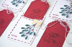 merry kiss-mas + stitched tag by ashley = super cute gifts! xoxo!