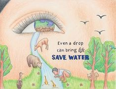 Save Water Drawings: Hello friends, Today we an amazing collection of save water drawing and posters on save water. Saving water is really important Save Earth Drawing, Save Water Poster Drawing, Drawing For Kids, Save Water Images, Save Earth Posters, Poster On Save Water, Save Environment Posters, Save Water Slogans, Save Water Save Life
