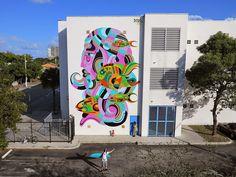 Art Basel '14: REKA paints a vibrant mural in Miami, USA