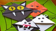 paper crafts origami halloween - Google Search