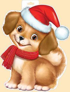Империя Поздравлений - - Christmas Rock, Christmas Crafts, Christmas Decorations, Christmas Ornaments, Merry Christmas, Vintage Christmas Cards, Christmas Images, Cute Bunny Cartoon, Christmas Drawing