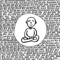 zen es zazen O zen refere-se a uma vida ativa, envolvida. Meditation Retreat, Meditation Art, Meditation Practices, Frases Yoga, Buddha Doodle, Zen, Social Media Quotes, Conscience, Spiritual Wisdom