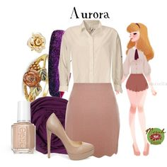 Punziella: Aurora by merahzinnia on Polyvore featuring Aiayu, Yumi, Steve Madden, Marc by Marc Jacobs, SUMMERSKIN, Sweaty Bands and Essie