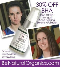 Now While Supply Lasts. 30% OFF BHA Serum Use Code BHA2 At Checkout  Besides…