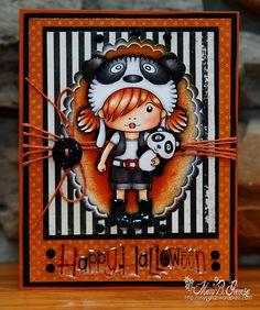 Panda Girl card
