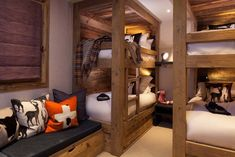 Chalet interiors and ski chalet interiors – If you are looking for a chalet interior design service then get in touch with us here at Laughland Jones. Chalet Chic, Ski Chalet Decor, Cabin Interior Design, Chalet Interior, Condo Decorating, Cabin Interiors, House Beds, Home, Austria