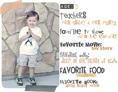 So want to do this when Noah starts school!