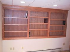 Built in Bookcases | Custom 10' long Built In Bookcase - Woodworking Talk - Woodworkers ...