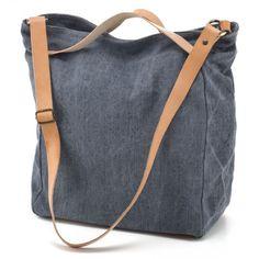 CHISSENE TOTE BAG BEAT/BLUE | chissene
