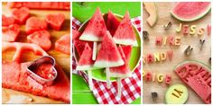 These smart watermelon tricks are the ultimate summer party starters.