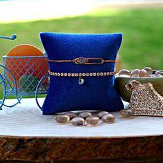 Dainty Bracelets, Stackable Bracelets, Gold Bracelet For Women, Bracelet Set, Rose Gold Plates, Delicate, Minimalist, Bronze, Jewels