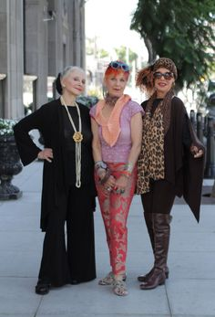 These women make me look forward to gettting older and more amazing ----ADVANCED STYLE