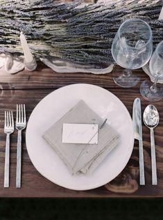 Ethereal Lavender Spanish Wedding Inspiration - MODwedding