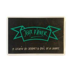 01/01/1989 - Le premier logo et la carte de membre originale des Jeux d'Hiver. Design: C. Brochier Logo, Design, Home Decor, Winter Games, Beginning Sounds, Gaming, Logos, Decoration Home, Logo Type