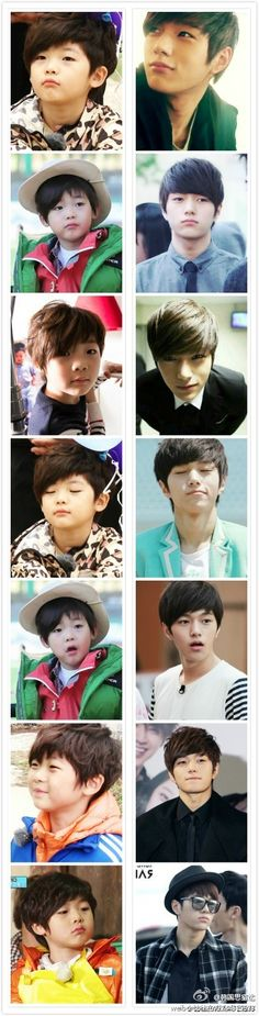 L Myungsoo : Infinite he was such an adorable kid :3