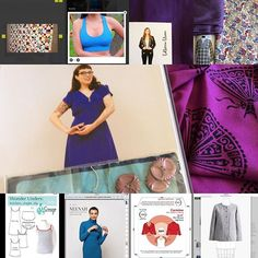 #2017makenine @rochelle_new My main ambition is to make a beautiful dress out of this purple Gretchen Hirsch fabric which a friend got me for Christmas. I am going to use the instructions to alter the neckline to a scooped neckline and convert the darts to shoulder gathers .. also going to use these vintage buttons #gertiesnewbookforbettersewing @gertie18 side projects include: one king size patchwork quilt using my #accuquilt cutter, #brazibra from @stitch_upon_a_time, #bellatrixblazer in…