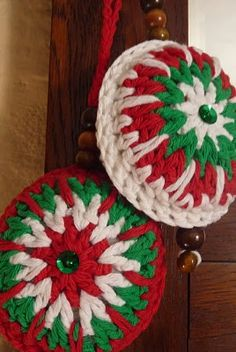 La tienda de Textura y Punto: Adornos navideños - Christmas decoration