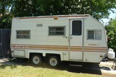 "1983 shasta travel Trailer, 1799. ""17-1/2 feet . Camper is very clean and in great shape. It has 2 new tiresalso has working 110 ac unit,refridgewrator new and installed in 2007 owners manual and all other paper work available over 1800.00 in up grade repairs done in 2007 The size of trailer sleeps 4 adults or 2 adults and 4 kids. It is ready for the road this week Tags are current for 2013 have title and paper work"""