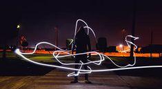 Light Painting. #LightPainting #nighttimephotography #bulbmode