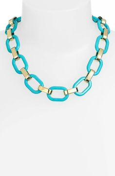 Nautical and pretty - Michael Kors link necklace