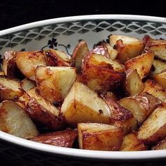 Honey Roasted Red Potatoes--I replaced butter with olive oil, but pouring the remaining mixture over potatoes was too oily. Next time will toss in oil mixture & place in pan without adding additional mixture-kl