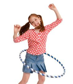 Make your own hula hoop!