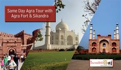 Incredible Taj offering a Day Trip to Taj Mahal along with visit to another famous places like Sikandra, Agra Fort and Itmad-ud-Daula.  Visit our official Website: http://incredibletaj.com/ or call us today +91-7248150005 to book your dream tour  #agratour #agra #samedayagratour #tajmahal #agrafort #sikandra #fatehpursikri #mehtabbagh #samedaytour #indiatour #inboundtour #indiaholiday #holidays #vacations #tour #travel