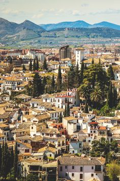 Granada, Spain     Decades ago Alexis & I stayed @ almost charming small hotel within the walls of the Alhambra, a lovely place 2 walk @ night.