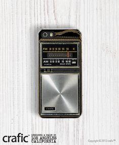 Retro Pocket Radio iPhone 5/5S Case, iPhone 4/4S Case, iPhone 5C case on Etsy, $24.00