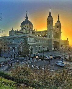 La catedral de Almudena,Madrid