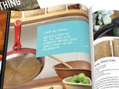 Cookbook Design by Michelle D'Avella