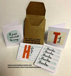 Stampin' UP! February Paper Pumpkin Tips, Ideas, Variations Video | RemARKable Creations #paperpumpkin